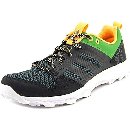 Adidas Outdoor Kanadia 7 Trail Running Shoe - Midnight Indigo / craie blanche / jaune solaire 6.5