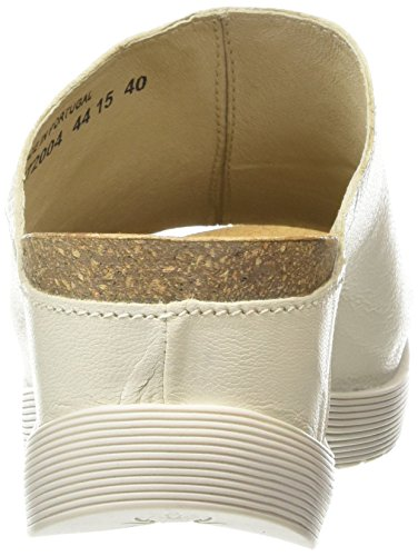 Fly London Wigg672, Sandales Bout Ouvert Femme Blanc Cassé (Off White 004)