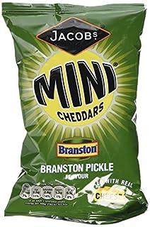 Mcvitie's Baked Mini Cheddars Branston Pickle Flavour 50 g (Pack of 30) (B004IKSPKU) | Amazon price tracker / tracking, Amazon price history charts, Amazon price watches, Amazon price drop alerts