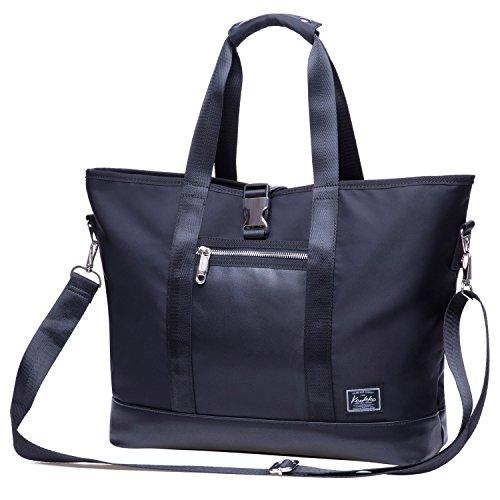 Unisex Umhängetasche Vintage Laptoptasche KAUKKO Schultertasche Messenger Bag für Laptop iPad Und Arbeit