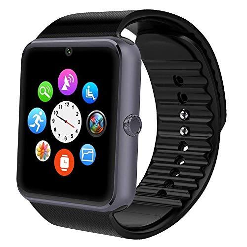 mart Watch Sport Uhr Smart Uhr Fitness Tracker mit Schrittzähler Schlafanalyse 1.54 Zoll Touchscreen,Kamera,SMS Facebook Vibration Kompatible Android Handy für Herren Damen ()