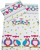 Babys Insel Babybett Bettwäsche Bettbezug Kissenbezüge 110x 125cm für IKEA Quilts–viele Designs erhältlich