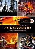 Feuerwehr - Warten auf den nächsten Einsatz (Wandkalender 2019 DIN A4 hoch): Täglicher Einsatz voller Gefahren zum Wohle der Allgemeinheit (Planer, 14 Seiten ) (CALVENDO Menschen)
