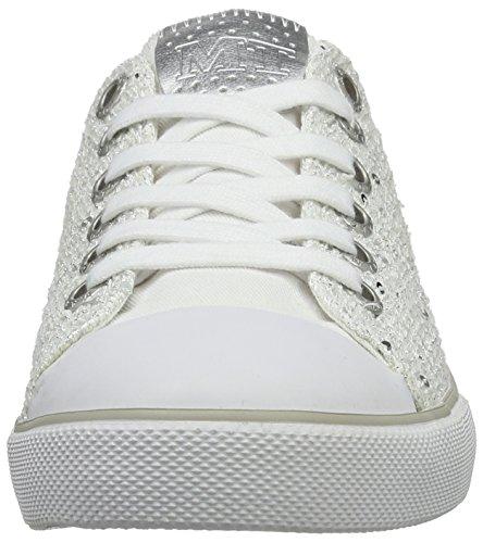 Marco Tozzi 23604, Baskets Basses Femme Blanc (White Comb 197)