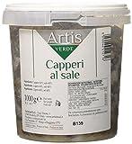 Capperi al Sale Mezzanella Calibro 13 Secchiello Kg  1-Peso Netto Kg  1