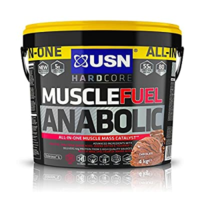 USN Muscle Fuel Anabolic Muslce Gain Shake 4KG + USN 19 Anabol Testo 90 Capsules 19-Anabol+ USN Tornado Shaker from USN.