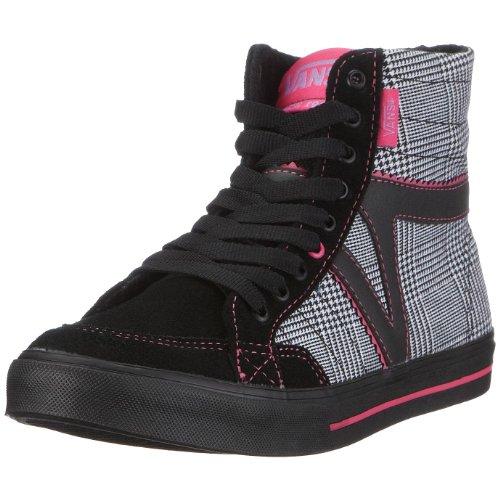 Vans VKWL1DV W CORRIE HI, Damen Sneaker Schwarz ((Houndstooth) B)