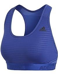 adidas Drst Ask Tec Sujetador Deportivo, Mujer, (Azul Claro), 2XSC