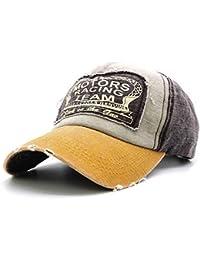 WETOO Gorras Beisbol Gorras de béisbol Gorra para Hombre Mujer Retro  Ajustable Hip Hop Casuales Sombreros f8f48798142