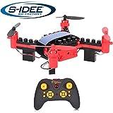s-idee® 17108 S902W Bausteindrohne Höhenstabilisierung Wifi Übertragung Quadrocopter Höhenstabilisierung mit Wifi Kamera 4 Kanal