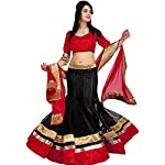 S R Fashion believe in STYLE, QUALITY and COMFORT and this Designer LEHENGA CHOLI is a true combination of these features. Freshen up your majestic look with this eye-catchy apparel from S R Fashion. It assures to turn head around with its embroidere...