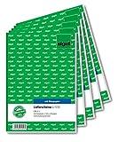 Sigel LI525bolla di consegna 2fach con ricezione Schein, A5 A5, 3x50 fogli 5 pezzi