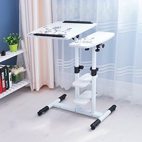 Preisvergleich Produktbild Lzz Faltbarer entfernbarer Laptop-Schreibtisch / Einfacher fauler Computer-Schreibtisch (Farbe : F)