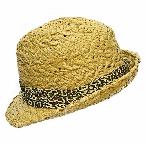 Été Femme Chapeau Chapeau Angleterre Chapeau De Jazz De La Mode Chapeau De Soleil Chapeau De Plage Beige