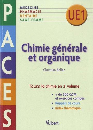 Chimie gnrale et organique - PACES UE1