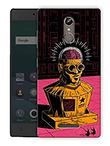 """Humor Gang rock structure man Printed Designer Mobile Back Cover For """"Gionee Elife S6S"""" (3D, Matte Finish, Premium Quality, Protective Snap On Slim Hard Phone Case, Multi Color)"""
