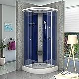 AcquaVapore DTP10-2200 Dusche Duschtempel Duschkabine Fertigdusche 100x100