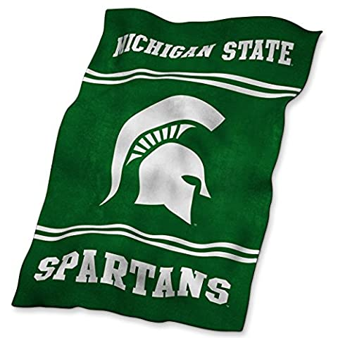 NCAA Michigan State Spartans Ultrasoft Blanket