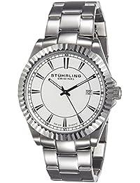 Stührling Reloj 408G.33112 de Caballero movimiento de cuarzo con brazalete metálico