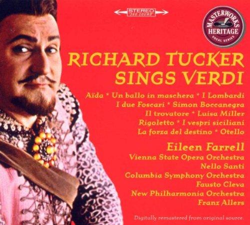 Richard Tucker chante Verdi - Coll. Héritage