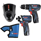 Bosch 10.8 V Professional Cordless Twin Kit (Includes 2 x 2.0 Ah Lithium Ion Batteries)