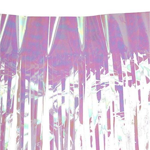 ng Lametta Vorhänge Tür Fenster Vorhänge für Party Dekorationen - 3 x 1m (Halloween Lametta)