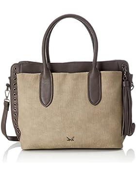 Sansibar Damen Zip Bag Henkeltasche, 14x29x33 cm