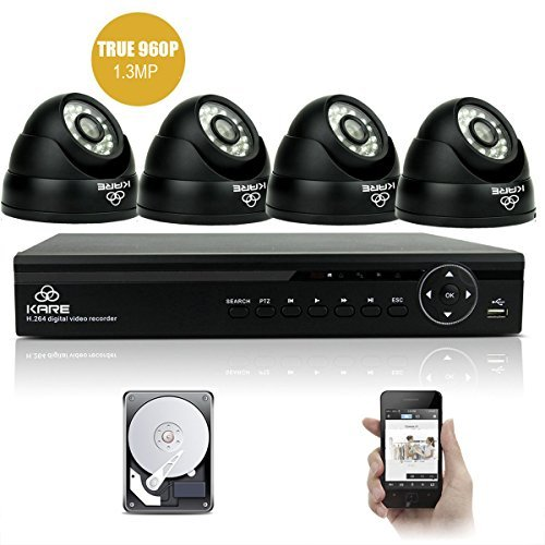 upgraded-960p-hd-4ch-waterproof-cctv-camera-system-with-4x-super-hd-indoor-outdoor-fixed-dome-camera