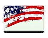 #10: Ownclique American Flag Graphics Laptop skin for 15.6 inches Laptop, Compatible for Dell-Lenovo-Acer-HP-Samsung Laptops [HD Print - Matte Lamination]