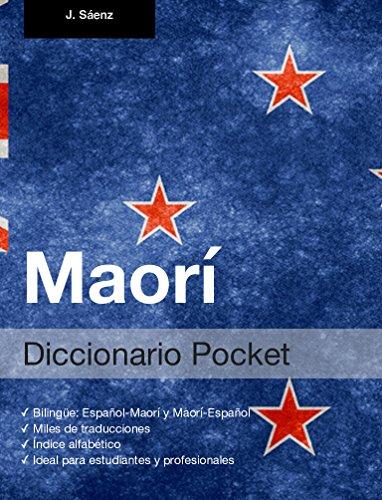 Diccionario Pocket Maorí por Juan Sáenz