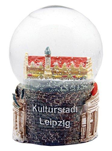 30015 Souvenir Palla di neve Alemania città di cultura Leipzig