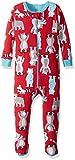 Petit Lem Boys Footed Pajamas
