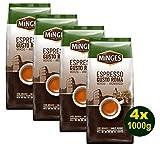 Minges Espresso GUST ROMA, ganze Bohnen 4 x 1000g (4000g) - Feinster Kaffee Arabica