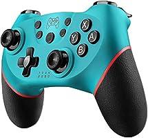 Diswoe Mando para Nintendo Switch, Wireless Bluetooth Pro Controller Controlador Inalámbrico con Función Gyro Axis/Dual...