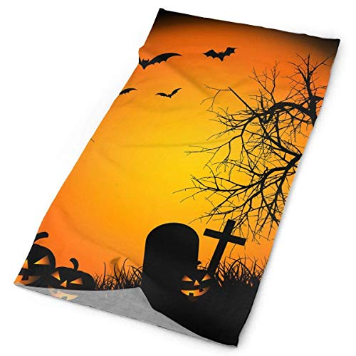 Bikofhd Stirnbänder Happy Halloween Headwear Bandana Schweißband Gamasche Kopf Wickeln Maske Hals Outdoor Schal New3