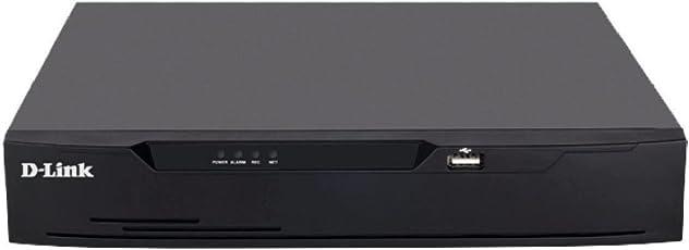 D-Link 4CH/1 Sata Metal DVR(Black, DVR-F-1104)
