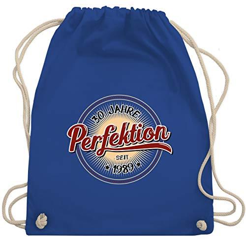 Geburtstag - 30 Jahre Perfektion seit 1989 - Unisize - Royalblau - WM110 - Turnbeutel & Gym Bag