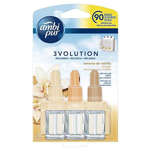 Ambi Pur 3Volution Vanilleduft für den elektrischen Lufterfrischer, Nachfüllpackung, 21ml