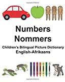English-Afrikaans Numbers/Nommers Children's Bilingual Picture Dictionary (FreeBilingualBooks.com)