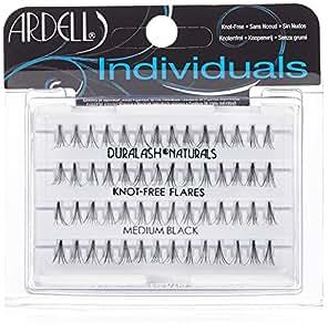 Ardell Individuals Medium, das Original (Knot Free) black, 1er Pack (1 x 56 Stück)
