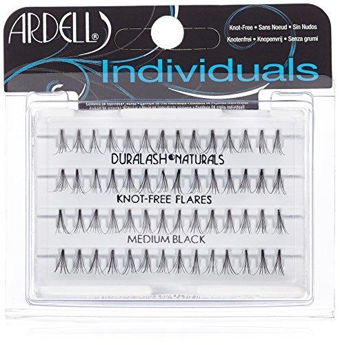 falsche wimpern einzeln Ardell Individuals Medium, das Original (Knot Free) black, 1er Pack (1 x 56 Stück)