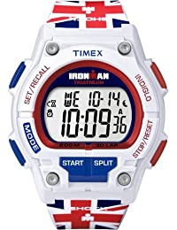 Timex Ironman Men's Quartz Watch with LCD Dial Digital Display and Multicolour Resin Strap T5K586SU
