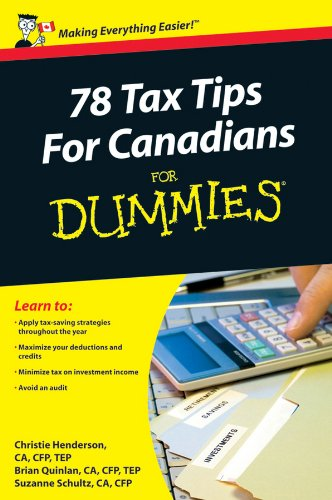 Free Download 78 Tax Tips For Canadians For Dummies Pdf Download