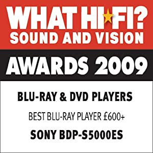 Sony BDP-S5000ES Blu-ray Disc Player: Amazon.co.uk: TV