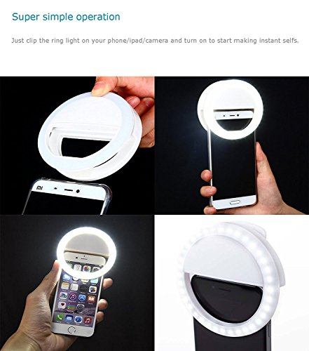 Selfie-Ring-Light-RK-14-WhiteBlueBlack