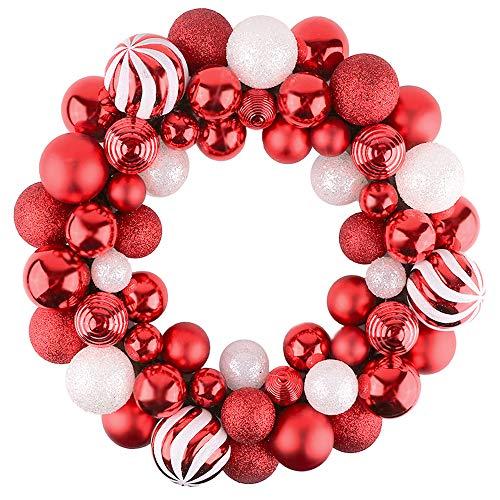 Valery Madelyn Diametro di 35 cm Corona di Natale Decorazioni Natalizie