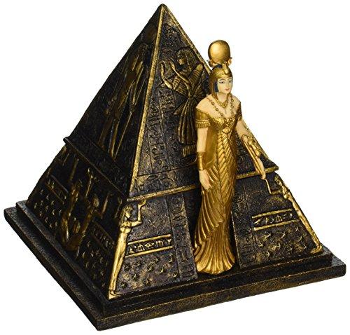 hmuckschachtel - Ägyptische Göttin Isis Pyramide Schmuck-Box - Ägyptische Statuen ()