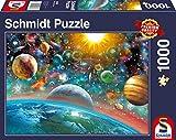 Schmidt Spiele 58176 58176-Weltall, 1000 Teile Puzzle, bunt