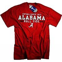 Alabama Crimson Tide Maglietta con cappuccio, motivo: Maglia con bandiera