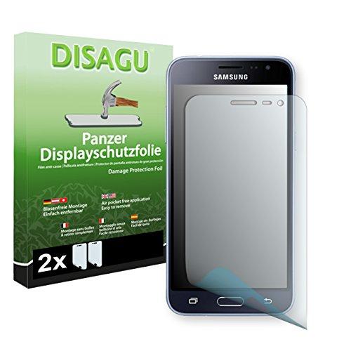 2 x Disagu Panzerfolie Displayschutzfolie für Samsung Galaxy J3 (2016) Duos Bruchschutzfolie